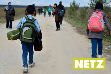 Netz 2/2017: Ohne Eltern geflüchtet und unter 18: Heim oder Familie?